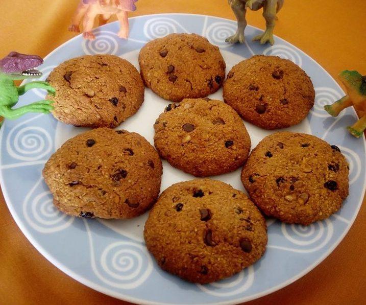 Τραγανά μπισκότα βρώμης με μπανάνα, ξηρούς καρπούς & μέλι (νηστίσιμα)