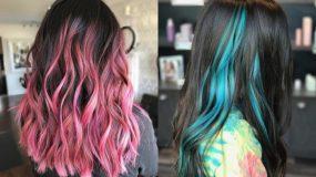 Άνοιξη 2020: Η απόλυτη τάση στα σκούρα μαλλιά είναι οι χρωματιστές ανταύγειες
