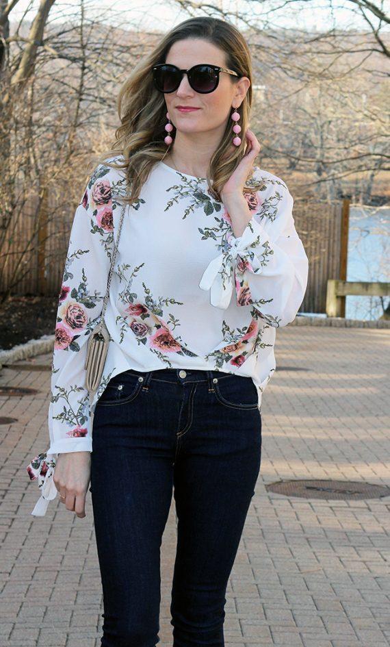 Το floral είναι το pattern που θα φορεθεί φέτος την 'Ανοιξη-Ιδέες με floral outfits