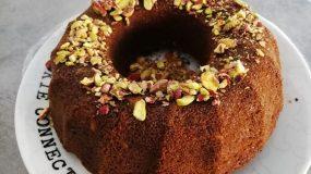 Αφράτο κέικ με φυστίκια Αιγίνης και άρωμα λεμονιού!