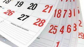Αυτά είναι τα επόμενα τριήμερα-Δείτε πότε πέφτει το Πάσχα και του Αγίου Πνεύματος για το 2020