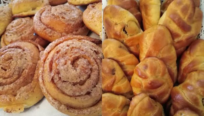 Γλυκά πιτάκια με γέμιση κανέλας ή πραλίνας φουντουκιού!