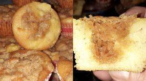 Καραμελωμένα muffins μήλου!