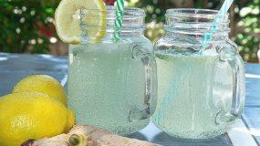 Συνταγή για την πιο δροσερή σπιτική λεμονάδα με τζίντζερ
