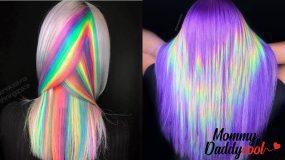 Hand-Pressed Coloring μαλλιά: Οι πολύχρωμες ανταύγειες είναι το trend του 2020!