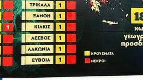 Κορωνοϊός: Αυτά είναι τα κρούσματα στην Ελλάδα ανά περιοχή