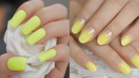 Lemon nails: Η νέα τάση στα νύχια για την Άνοιξη του 2020 είναι γεγονός! Δες μοναδικά σχέδια