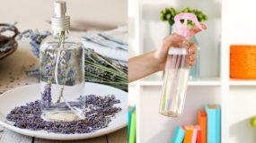 DIY Αρωματικό σπρέι για το σπίτι, τα μαλλιά και τα ρούχα με αιθέρια έλαια & Αντιμικροβιακή δράση