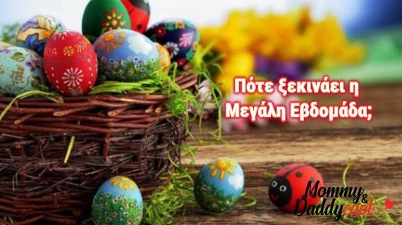 Απρίλιος 2020: Πότε ξεκινά η Μ. Εβδομάδα, ποιοι γιορτάζουν και ποιες παγκόσμιες ημέρες τιμούμε