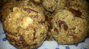 Νηστίσιμα cookies με νιφάδες βρώμης και κουβερτούρα!