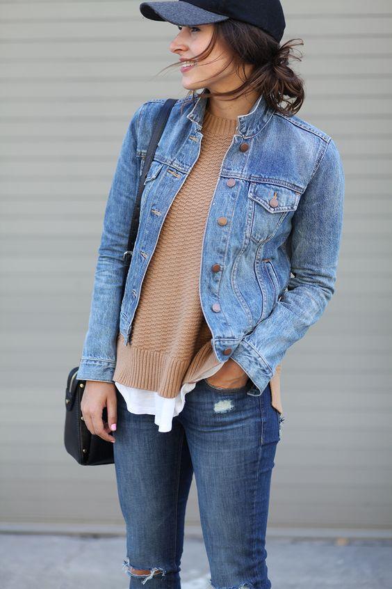 Το jean jacket ειναι all time classic κι εμείς εχουμε 15 outfits για να το συνδυάσεις