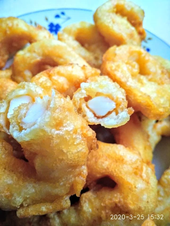 κουρκούτι για τηγανιτά καλαμαράκια