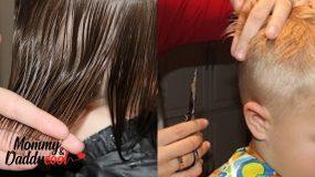 Πλήρης οδηγός για παιδικό & ανδρικό κούρεμα στο σπίτι & πως να κάνουμε αφέλειες