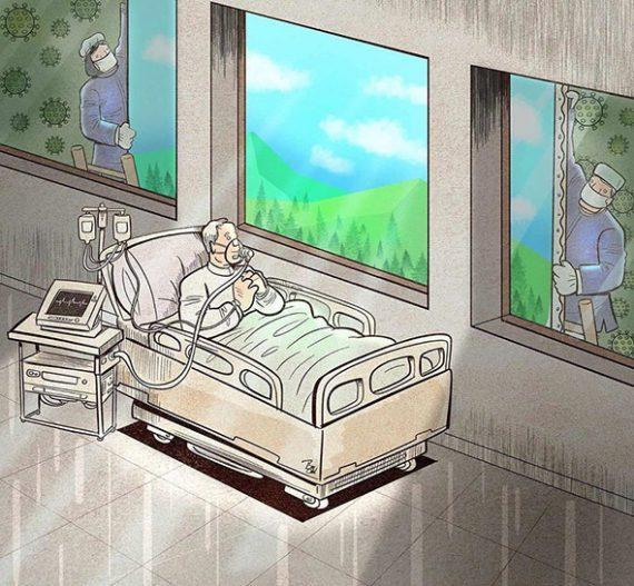 Κορονοϊός: Η σκληρή καθημερινότητα των γιατρών & των νοσηλευτών μέσα από 12 σκίτσα