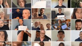 """Νίκος Αλιάγας: Τραγουδάει το """"Et demain"""" με άλλους 350 διάσημους για τους γιατρούς που παλεύουν με τον κορονοϊό"""