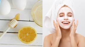 Η πιο αποτελεσματική μάσκα προσώπου με αυγό, λεμόνι & μέλι για ανανέωση και λάμψη!