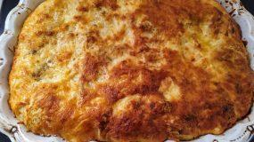 Σουφλέ με ψωμί του τοστ αλλαντικά, μανιτάρια και τυριά!