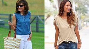 Το sleeveless T-shirt είναι η απόλυτη τάση για το Καλοκαίρι του 2020! Δες 15 υπέροχους συνδυασμούς