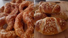 Πως να φτιάξουμε ζύμη για pretzel, κουλούρια, ψωμάκια και πιτάκια