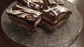Συνταγή για προφιτερόλ ταψιού με μπισκότα Πτι μπερ!!