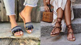 Καλοκαιρινά γυναικεία σανδάλια: Δες 15 trendy τρόπους να τα συνδυάσεις φέτος το Καλοκαίρι!
