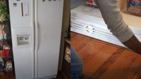 5 απλά & πανεύκολα βήματα για να καθαρίσετε το δυσκολότερο σημείο του ψυγείου που κανείς δεν το κάνει!