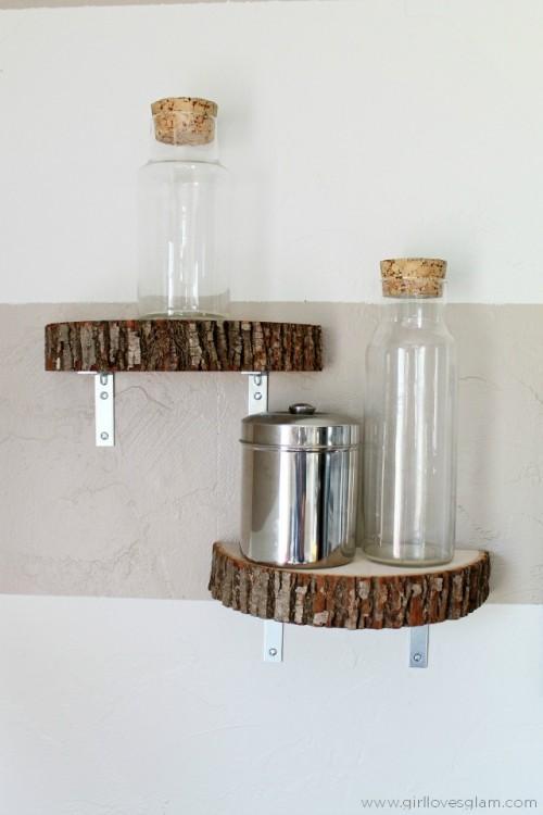 Φτιάξτε τα πιο όμορφα διακοσμητικά χώρου με έναν μικρό κορμό δέντρου!