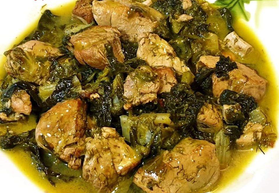 Συνταγή για φρικασέ με χοιρινό χωρίς αυγολέμονο