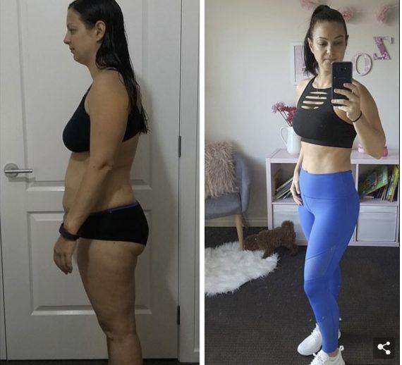 36χρονη μητέρα δύο παιδιών αποκαλύπτει πως έχασε 11 κιλά σε 8 μήνες!