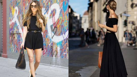 Λατρεύεις το total black outfit; 25 ιδέες για να το απολαμβάνεις και το Καλοκαίρι!
