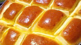 Συνταγή για αφράτο γεμιστό ψωμί με τυρί