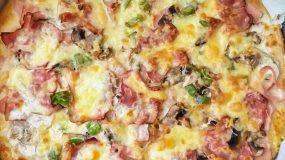 Πίτσα Καρμπονάρα για τους λάτρεις της καρμπονάρας
