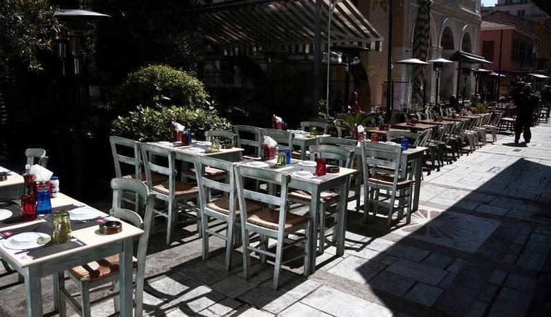 Μέτρα για εστιατόρια και καφετέρειες: Ενδεχόμενο να ανοίξουν νωρίτερα-Παραχώρηση πεζοδρομίων για επιπλέον κόσμο