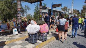 Ρομά μπήκαν σύσσωμοι σε λεωφορεία χωρίς μάσκες παρουσία της αστυνομίας