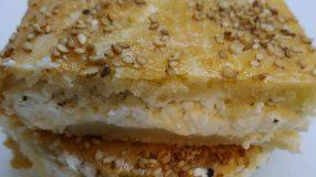 Τυρόπιτα με κρέμα τυριού, φέτα και δυόσμο για κάθε περίσταση!