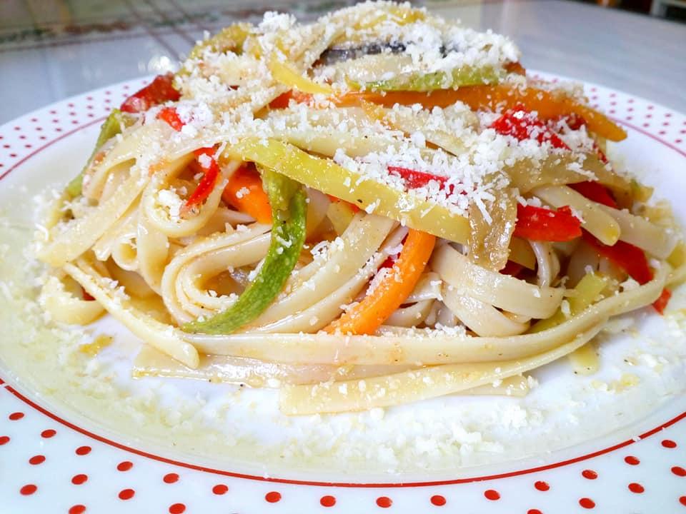 Λαζανάκι με λαχανικά και παρμεζάνα