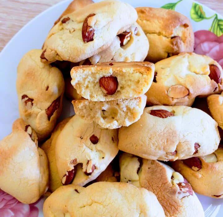 Διπλοφουρνιστά Ιταλικά μπισκότα Cantuccini