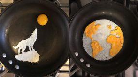 Θα εντυπωσιαστείτε! Καλλιτέχνης φτιάχνει μοναδικά σχέδια με...αυγά μάτια και τα ανεβάζει στο Instagram!
