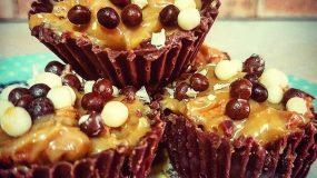 Σοκολατάκια με γεύση twix και 3 μόνο υλικά