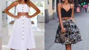 Τα γυναικεία crop tops είναι ξανά στη μόδα! Μοναδικές ιδέες να τα συνδυάσεις το καλοκαίρι