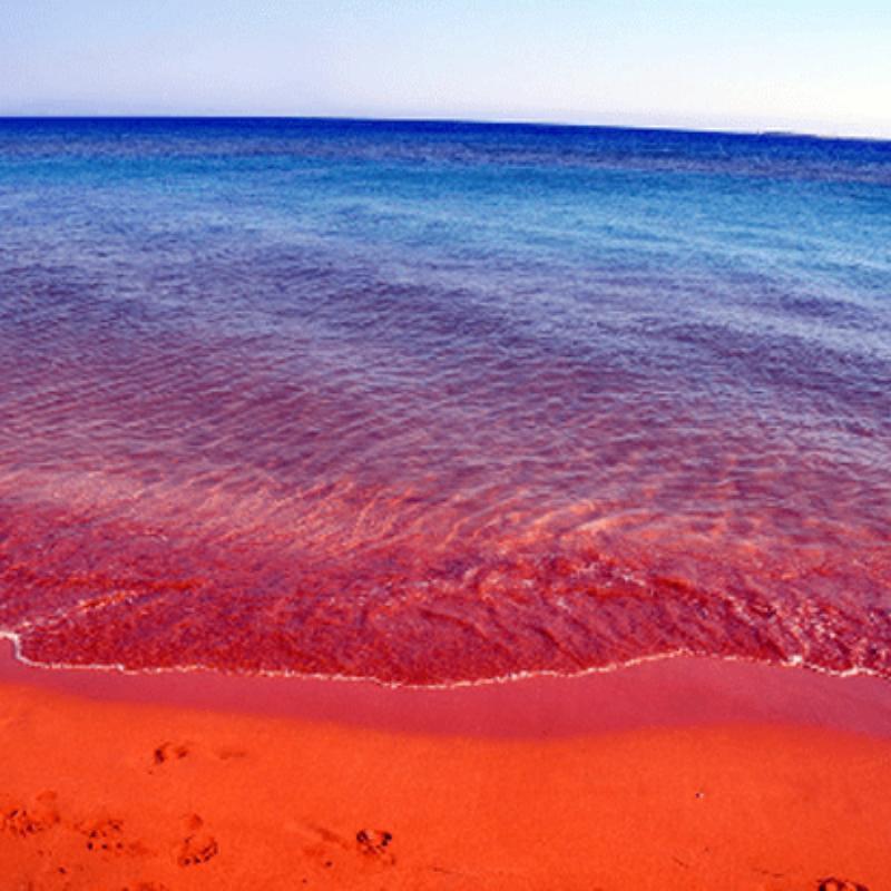 Παραλία Ξι: Γνωρίστε την υπέροχη παραλία της Κεφαλονιάς με την ΚΟΚΚΙΝΗ άμμο!