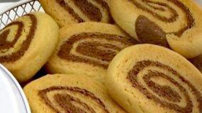 Συνταγή για τραγανά δίχρωμα μπισκότα
