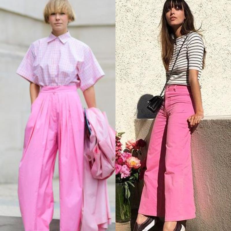 Αυτό το Καλοκαίρι το ροζ παντελόνι θα γίνει must! Δες 15 τρόπους να το συνδυάσεις