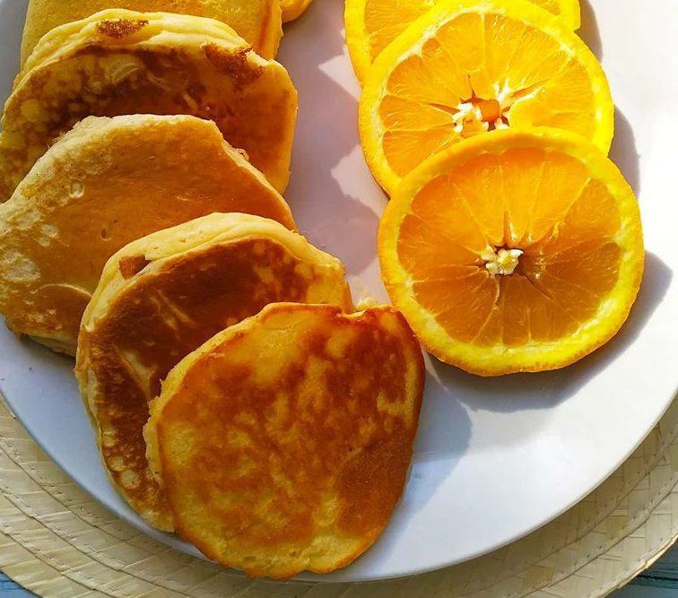 Pancakes μανταρίνι για το πιο γλυκό & υγιεινό πρωινό