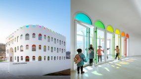 Ένα νηπιαγωγείο ξεχωριστό από όλα τ' άλλα! Το πιο φωτεινό & το πιο πολύχρωμο νηπιαγωγείο του κόσμου