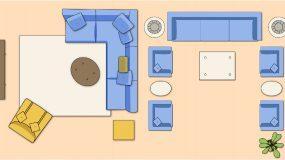 Έχετε μικρό σαλόνι; Δείτε 10 τρόπους να τοποθετήσετε τα έπιπλα για να φαίνεται μεγαλύτερο!