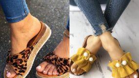 Καλοκαιρινές γυναικείες παντόφλες: 15 σχέδια & χρώματα για τα πιο άνετα παπούτσια του Καλοκαιριού