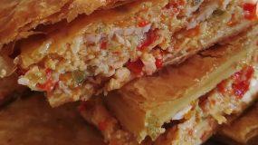 Πίτα λαχανικών με σφολιάτα και διάφορα τυριά!