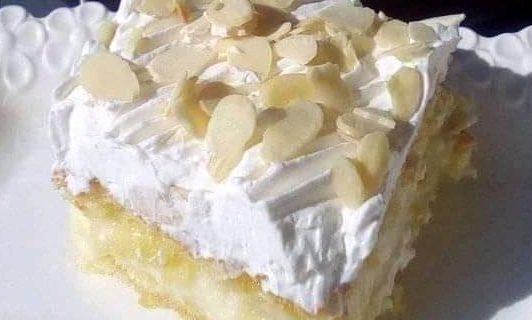 Φανταστική τούρτα αμυγδάλου