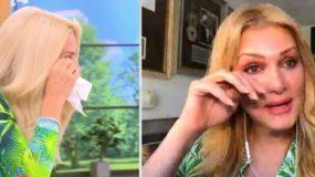 Ελένη Μενεγάκη – Νατάσα Θεοδωρίδου: «Λύγισαν» στον αέρα της εκπομπής της